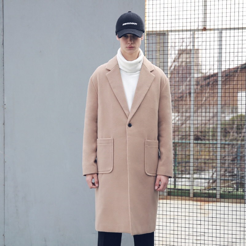 DROP SHOULDER OVERSIZED SINGLE COAT MFECT002-CM