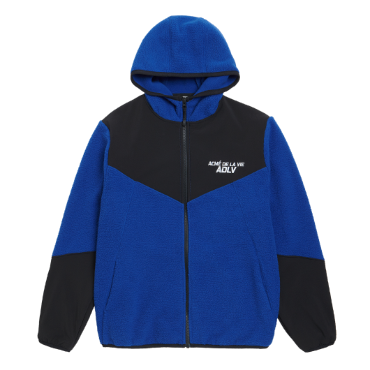 ADLV FLEECE JACKET BLUE