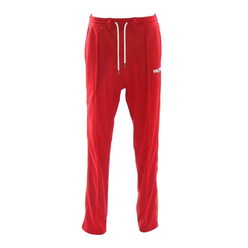 VR24K LOGO TRACK PANTS (RED)