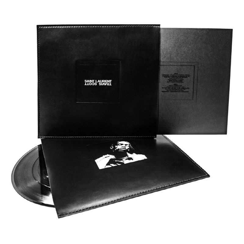 'TRAVIS SCHOTT X SAINT LAURENT' 협업 한정 LP 소개