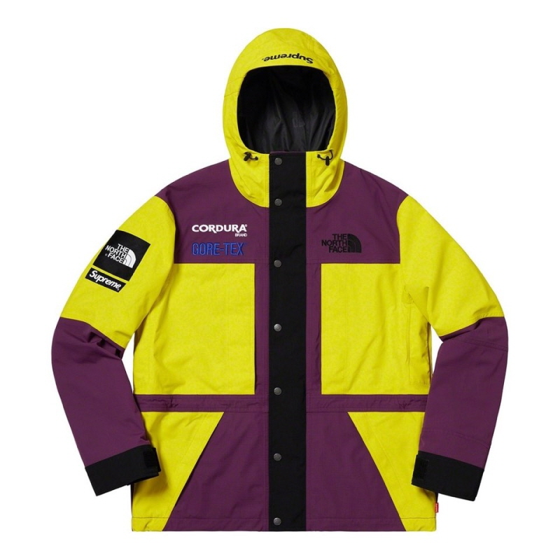 EXPEDITION JACKET YELLOW/PURPLE