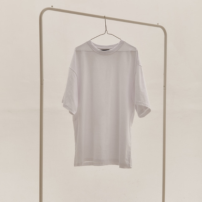 BASIC OVER T-SHIRT V2 WHITE