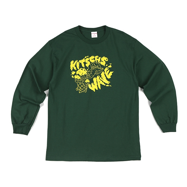 WAVE GREEN LONG SLEEVE