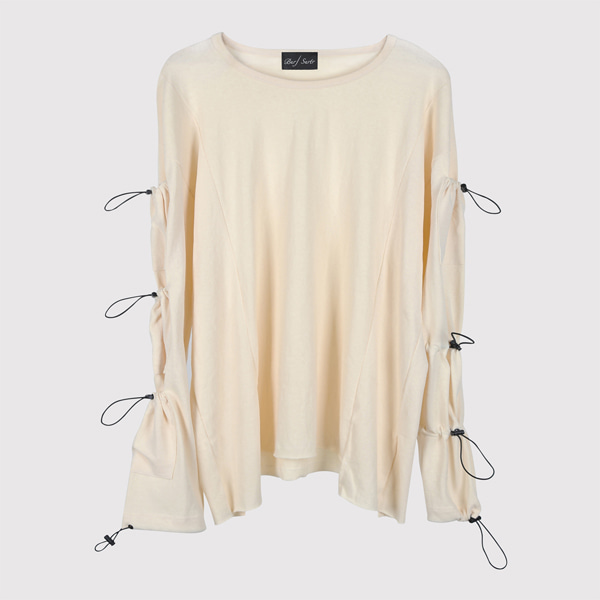 String Long Sleeve Cream