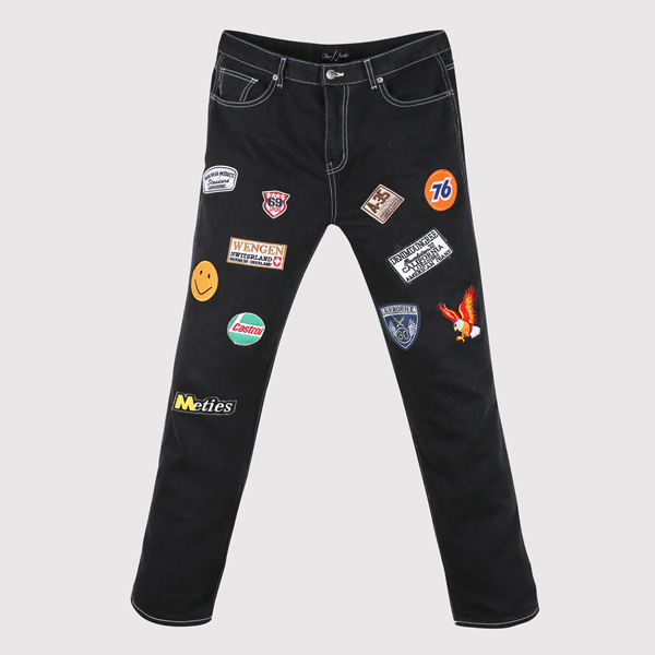 Wappen Patch Denim Jean