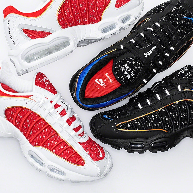 SUPREME AIR MAX TAILWIND 4 발매