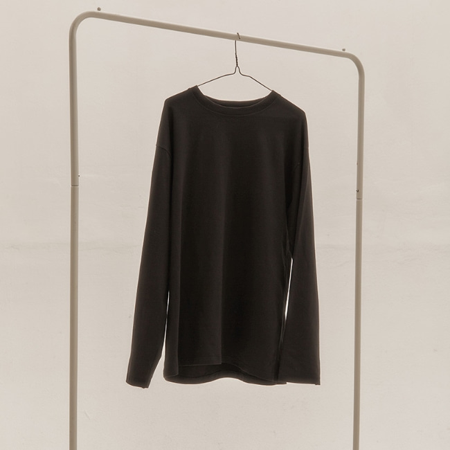 BASIC LONG SLEEVE V2 BLACK