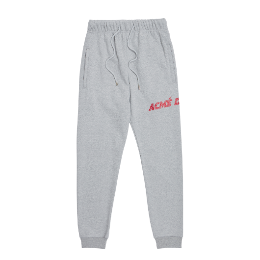 ADLV  LOGO SWEATPANTS GREY