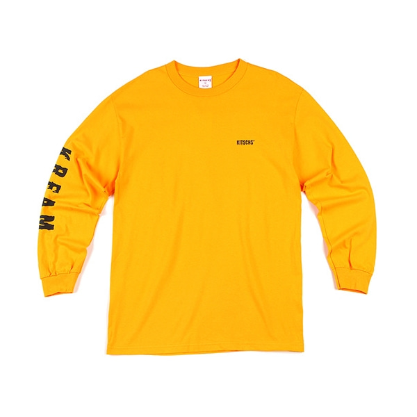 K.R.E.A.M. GOLD YELLOW LONG SLEEVE