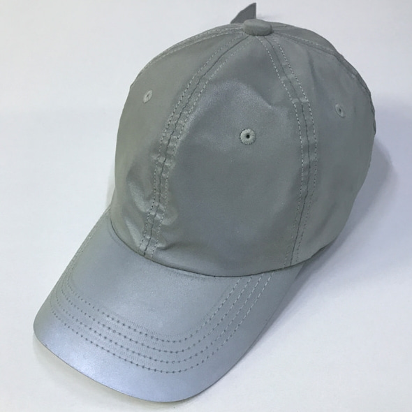 SCOTCH LONG STRAP BALL CAP SILVER