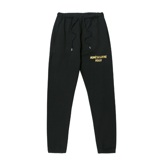 ADLV BROKEN LOGO SWEATPANTS BLACK