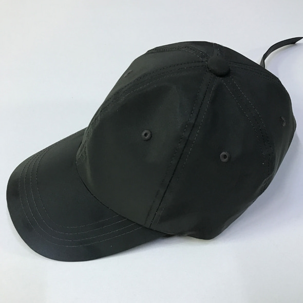 SCOTCH LONG STRAP BALL CAP DARK GRAY