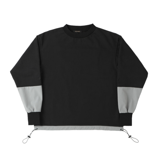 DIVIDE SQUARE SWEATSHIRT BLACK