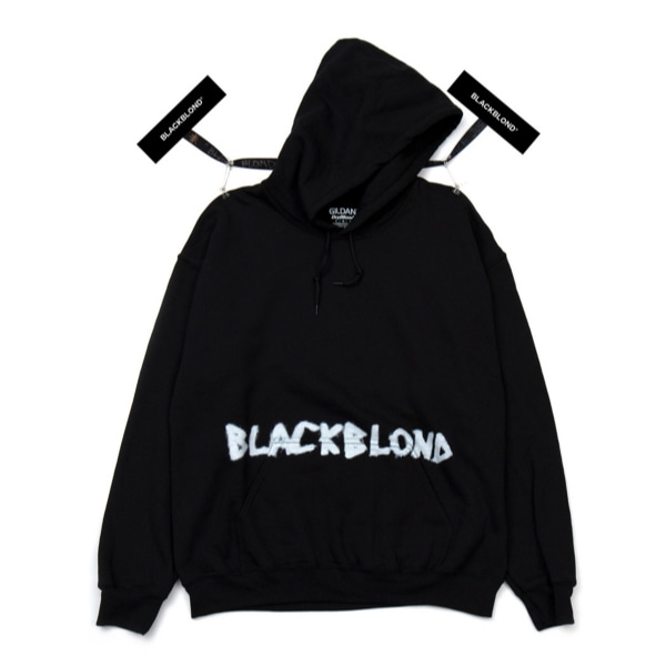 BBD INNOCENT CRIME HOODIE BLACK