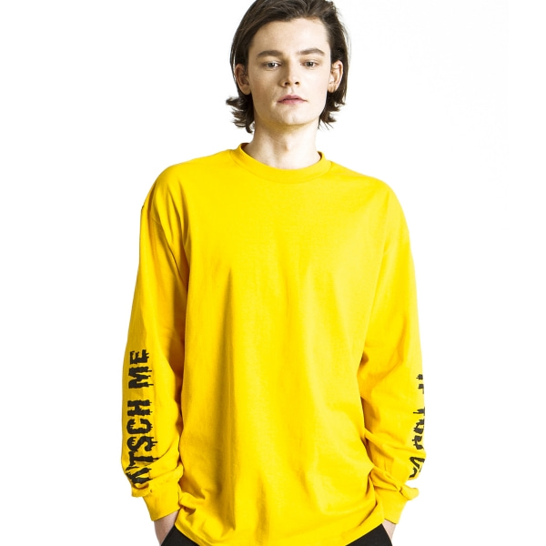 KITSCH ME IF YOU CAN YELLOW LONG SLEEVE
