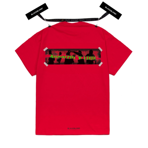 BBD INNOCENT CRIME SHORT SLEEVE TEE RED
