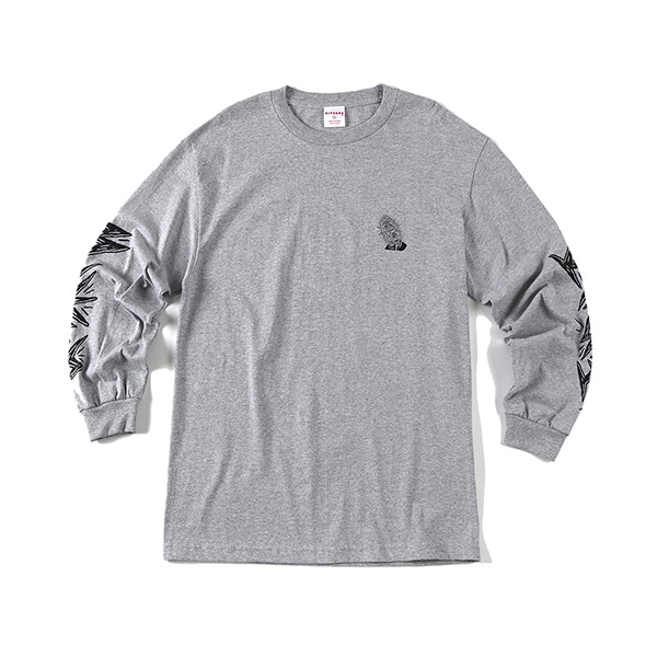 BLESS KITSCHS GREY LONG SLEEVE