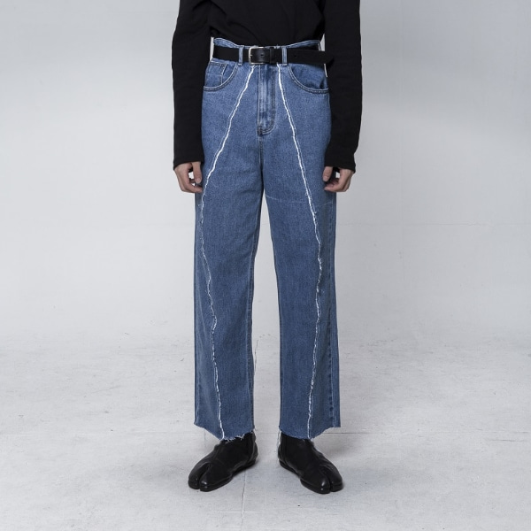 CLARTE REMAKE WIDE DENIM JEAN