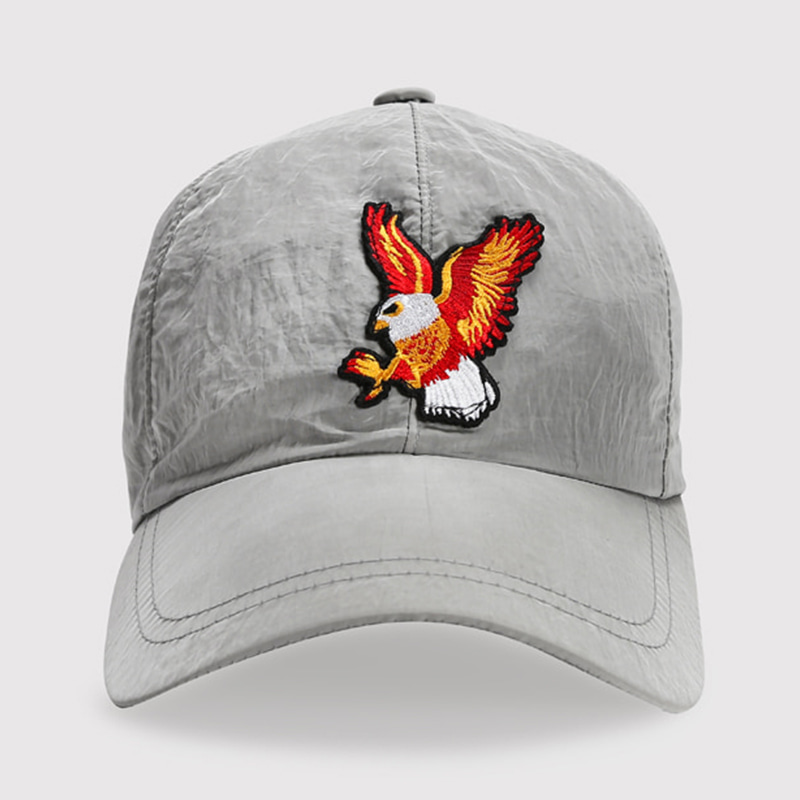 EAGLE NYLON BALL CAP (GRAY)