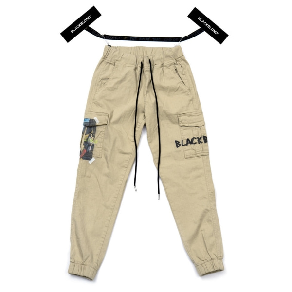 BBD INNOCENT CARGO JOGGER PANTS BEIGE