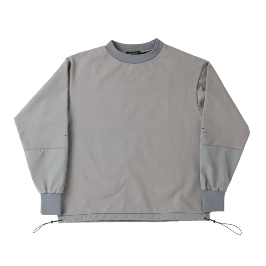 DIVIDE SQUARE SWEATSHIRT GRAY