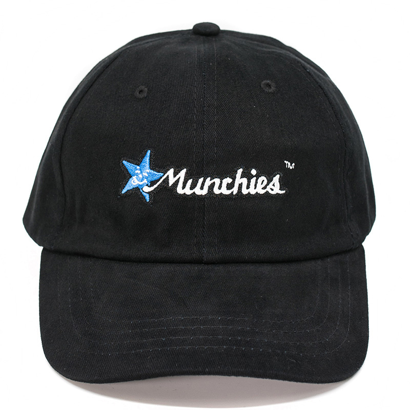 MUNCHIES CAP (BLACK/BLUE)