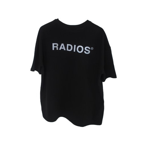 REFLECTIVE LOGO T-SHIRT TRACK.4 BLACK