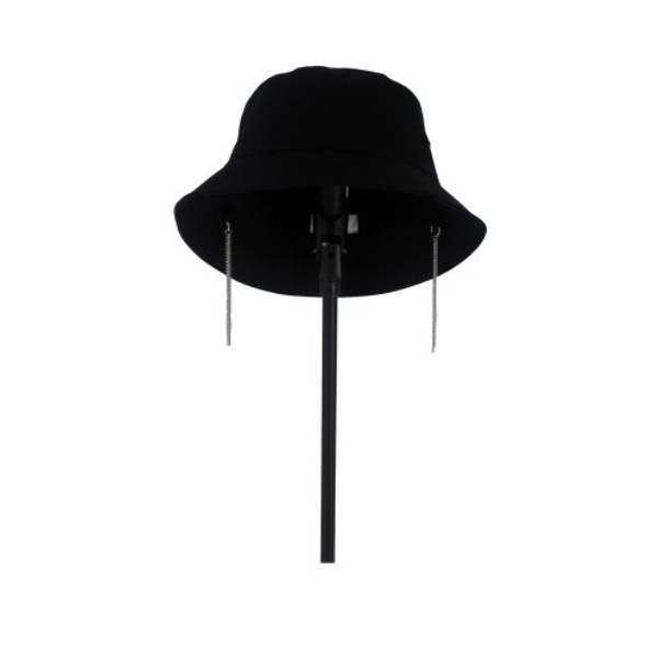 EARRINGS BUCKET HAT TRACK.4 BLACK