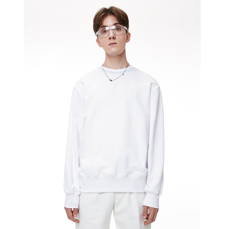 AIR SWEATSHIRT WHITE