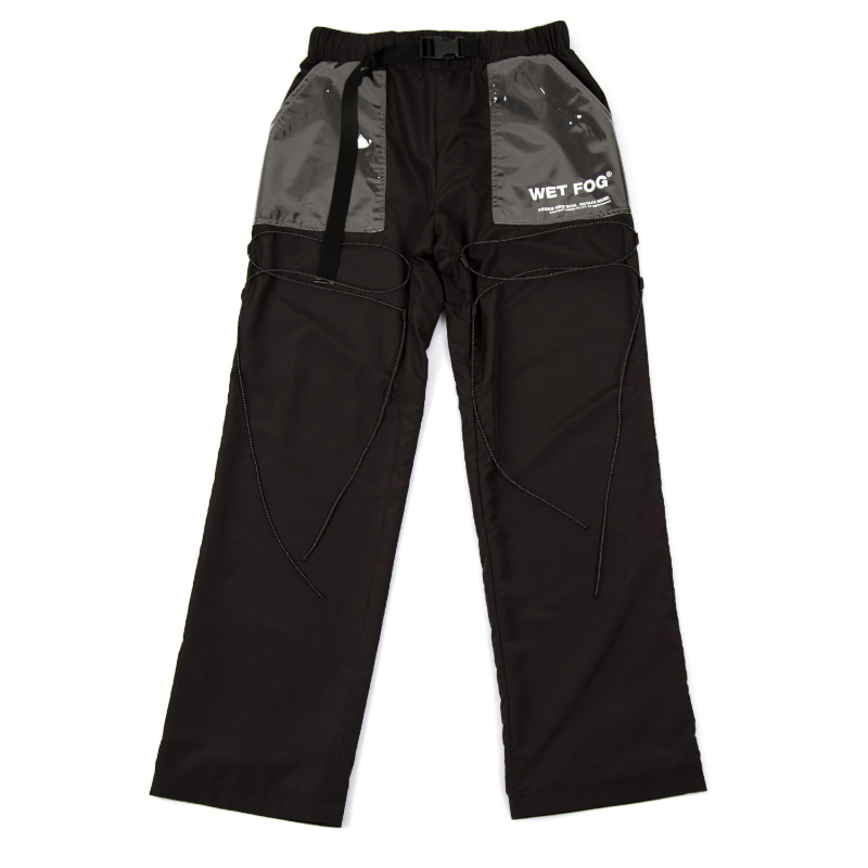 WETFOG PANTS BLACK