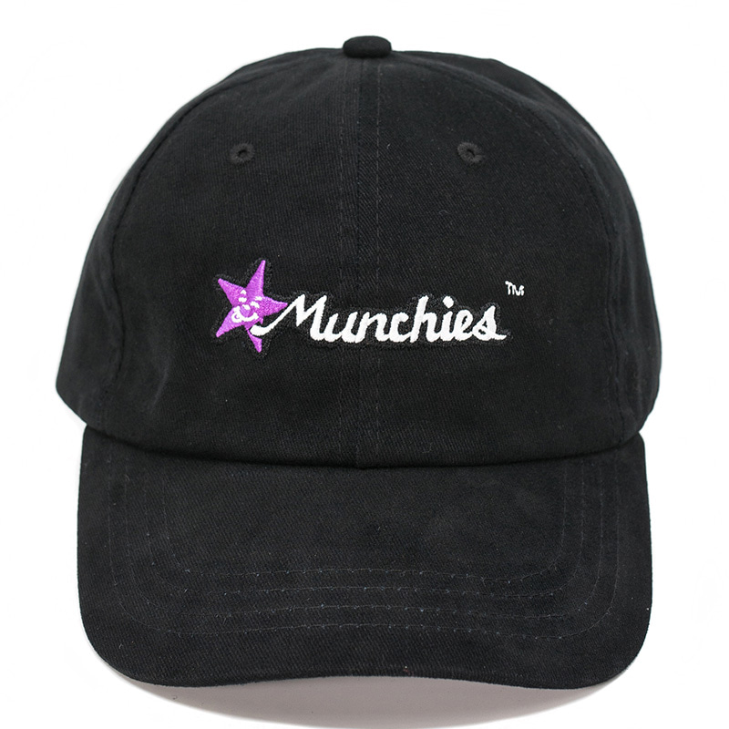 MUNCHIES CAP (BLACK/PURPLE)