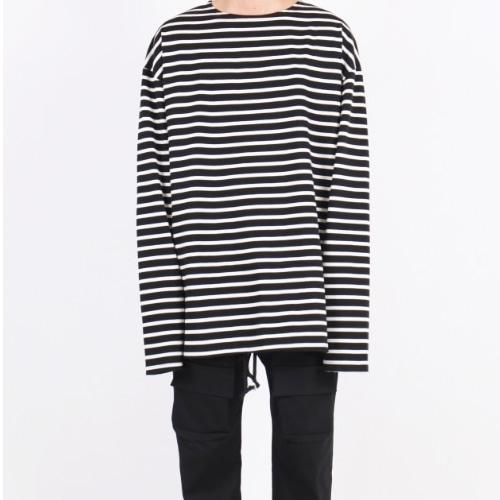 SUPER OVERFIT LONG SLEEVE VER.3 BLACK STRIPE