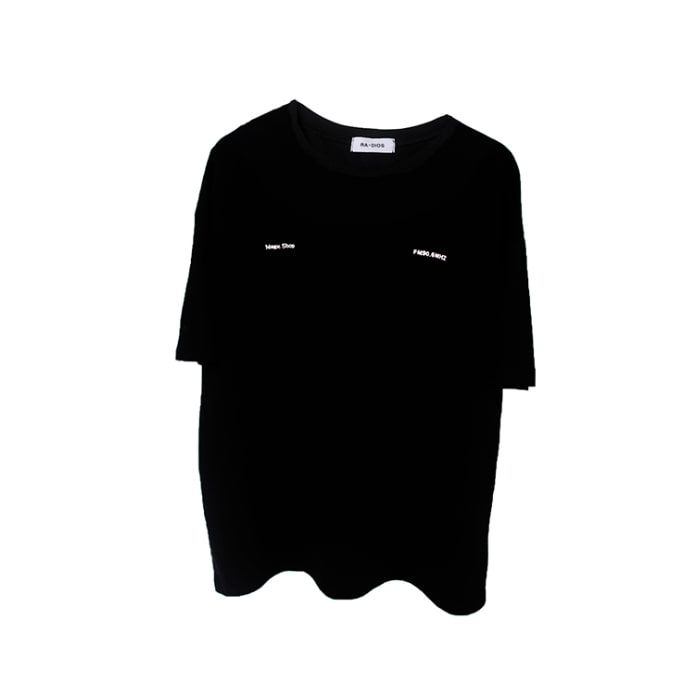 MAGIC SHOP T-SHIRT TRACK.3 BLACK