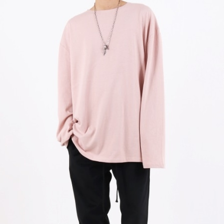 SUPER OVERFIT LONG SLEEVE VER.3 INDY PINK