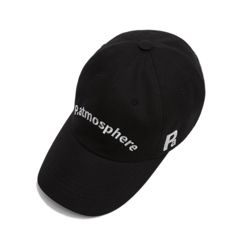 LOGO BASIC BALL CAP BLACK
