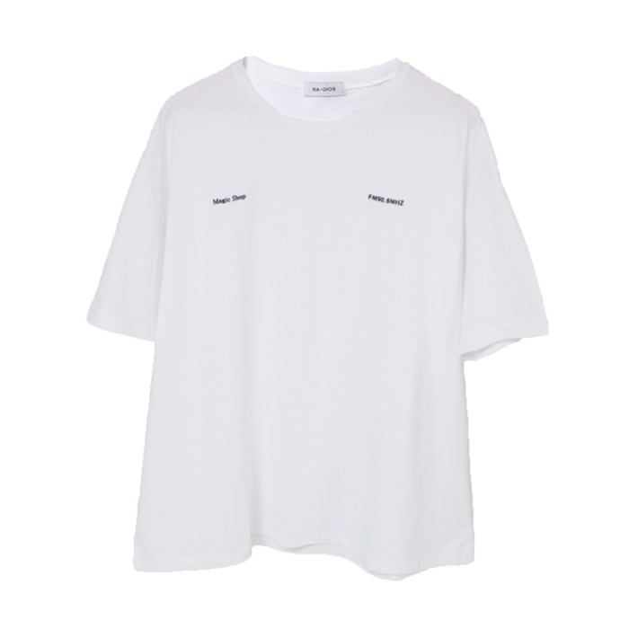 MAGIC SHOP T-SHIRT  TRACK.3 WHITE