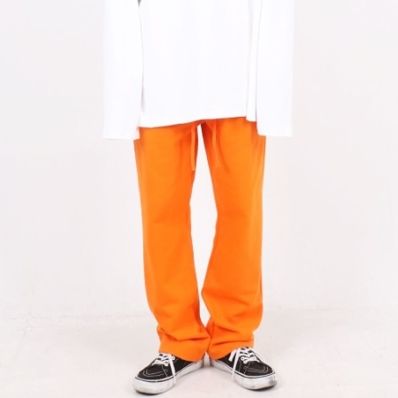 OVERFIT WIDE PANTS ORANGE