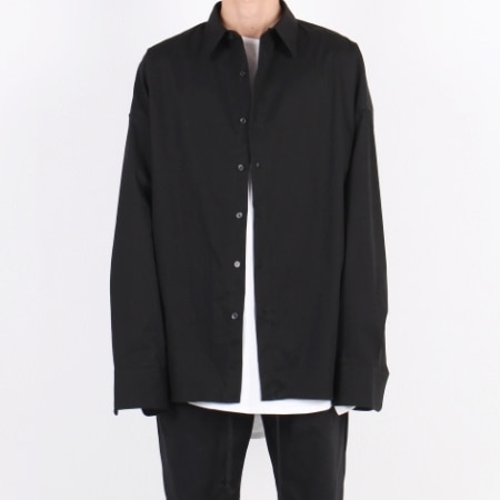 OVERFIT SHIRT BLACK