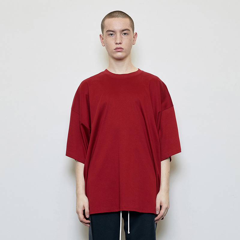 OVERSIZED T-SHIRT (RED)