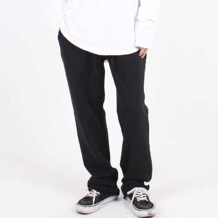 OVERFIT CUT SWEATPANTS 1 BLACK