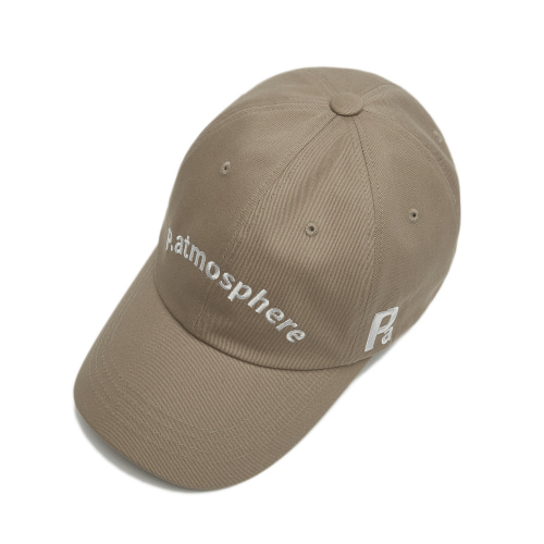 LOGO BASIC BALL CAP BEIGE
