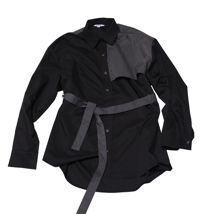 TRENCH MOOD OVERFIT SHIRT JACKET