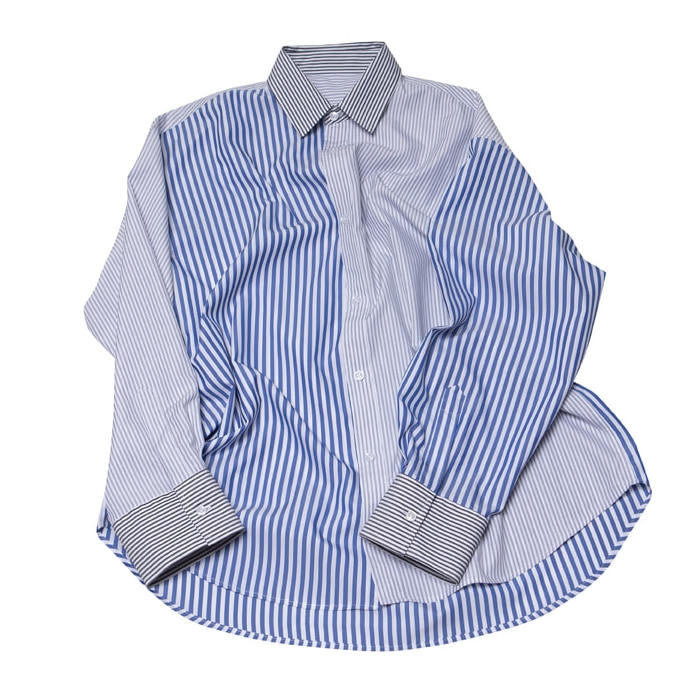 TRIPLE STRIPE LOGO OVERFIT SHIRT