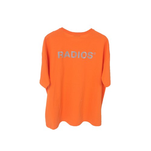 REFLECTIVE LOGO T-SHIRT TRACK.4 ORANGE