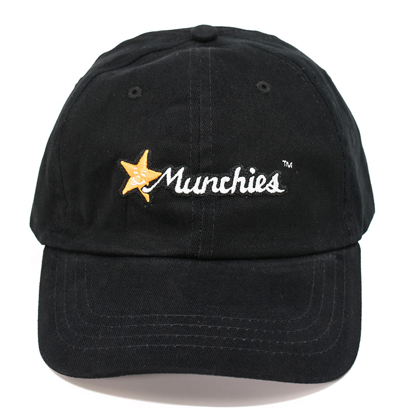 MUNCHIES CAP (BLACK/ORANGE)