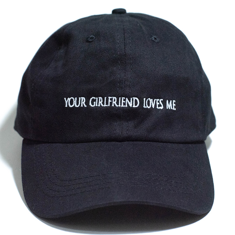 GIRL FRIEND CAP (BLACK)