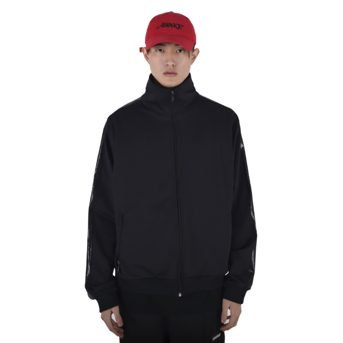 SHINING TRACK JACKET (BLACK/BLACK)