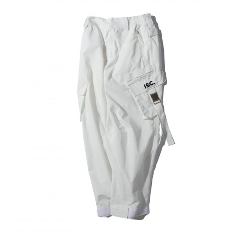 WLG TECH CARGO PANTS WHITE