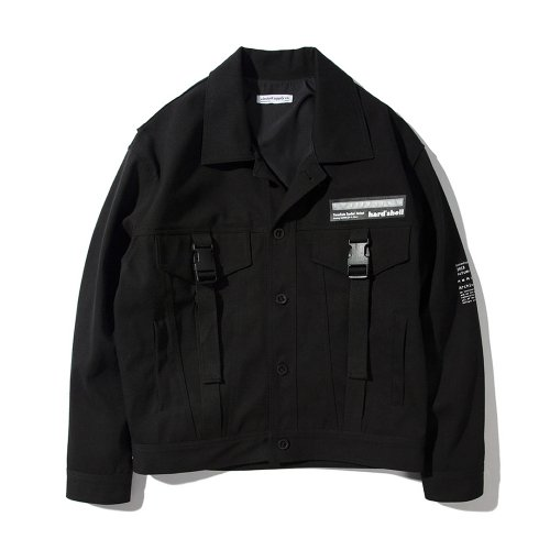 PRC TRUCKER JACKET BLACK