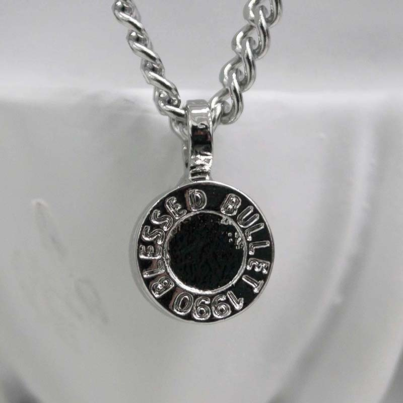 BULLET BACK NECKLACE (SILVER)